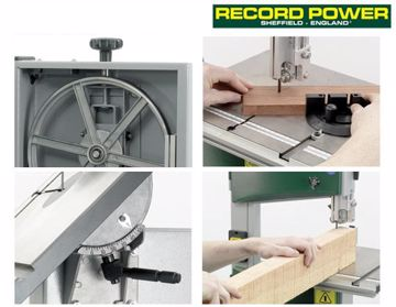 """Picture of Record Power BS250 Premium 10"""" Bandsaw"""