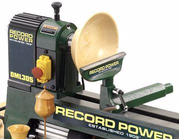 Picture of Record Power DML305-M33 Cast Iron 6 Speed Midi Lathe