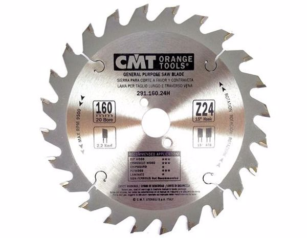 Picture of CMT 160mm TCT Saw Blade