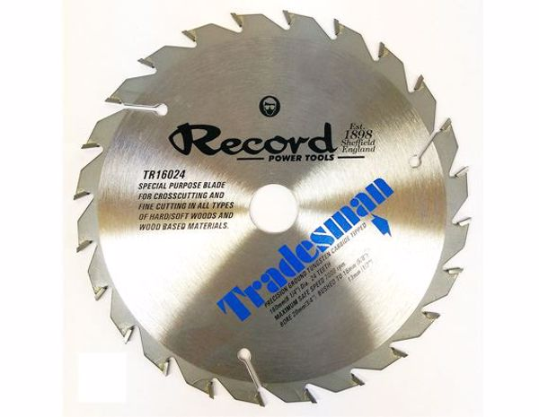 Picture of Record 160mm TCT Saw Blade