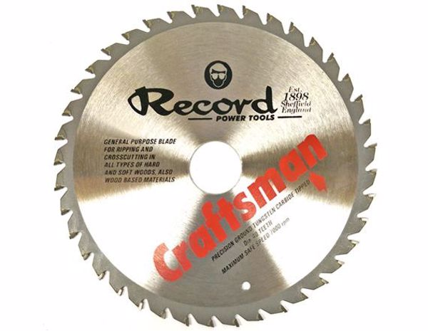 Picture of Record 185mm TCT Saw Blade