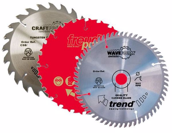 Picture of 184mm & 185mm TCT Saw Blades