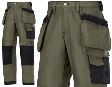 Picture of Snickers Craftsmen Trousers Canvas+ 3214