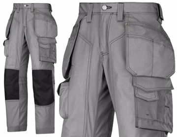 Picture of Snickers Rip Stop Floorlayers Trousers 3223