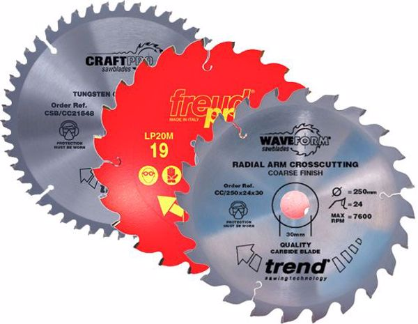 Picture of 215mm Mitre/Radial TCT Saw Blades