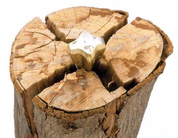 Picture of Wood Grenade Splitting Wedge