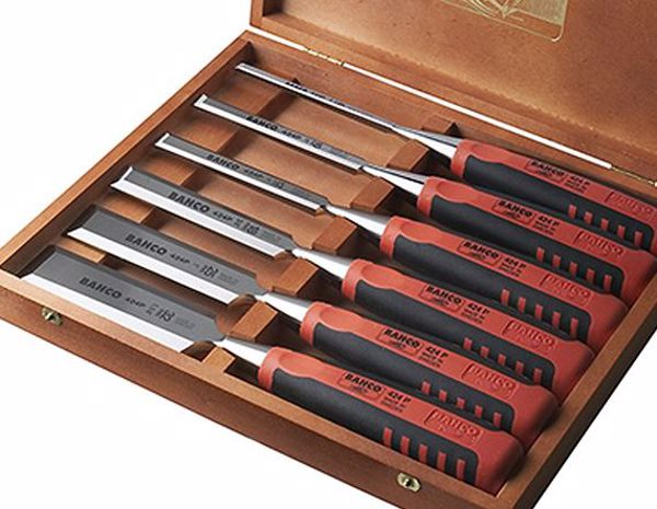 Picture of Bahco Bevel Edge Chisels - Set Of 6