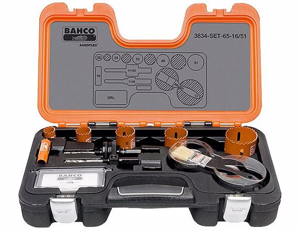 Picture of Bahco Professional Holesaw Set - Sizes: 16-51mm