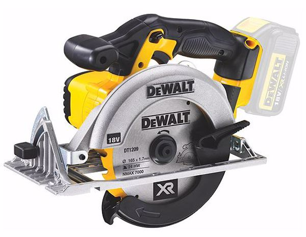Picture of DeWalt DCS391N 18v Circular Saw 165MM - Naked 'Body Only'