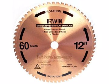 Picture of Irwin 60T x 305mm Mitre Saw Blade - Buy 1 Get 1 FREE